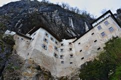 Castillo de Prediama, Solvenia Imagenes de archivo