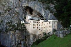 Castillo de Predjama Imagenes de archivo