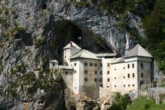 Castillo de Predjama Foto de archivo libre de regalías
