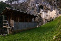 Castillo de Predjama, Europa, Eslovenia Foto de archivo