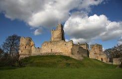 Castillo de Prudhoe Foto de archivo libre de regalías