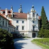 Castillo de Pruhonice Fotos de archivo