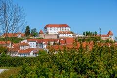 Castillo de Ptuj fotos de archivo libres de regalías