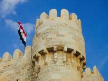 Castillo de Qaitbey imagenes de archivo