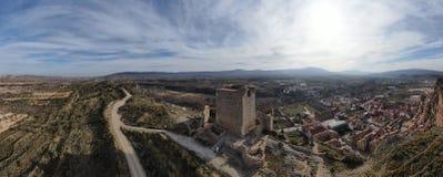 Castillo de Quel fotografia de stock