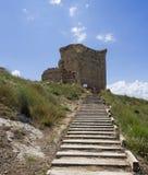Castillo de Quel Stock Photo