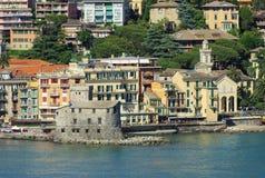 Castillo de Rapallo Fotos de archivo libres de regalías