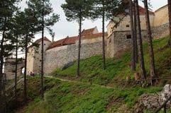 Castillo de Rasnov Foto de archivo