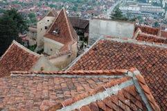 Castillo de Rasnov Imagen de archivo libre de regalías