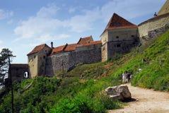 Castillo de Rasnov Imagen de archivo