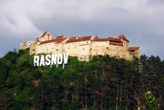Castillo de Rasnov Fotografía de archivo libre de regalías