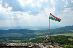Castillo de Regec en Hungría Foto de archivo libre de regalías