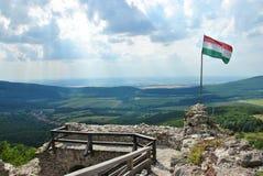 Castillo de Regec en Hungría Imagen de archivo libre de regalías