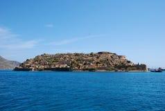Castillo de Retimno en Crete imagen de archivo