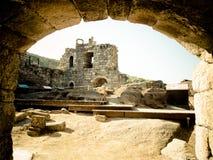 Castillo de Ribadavia Foto de archivo
