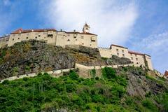 Castillo de Riegersburg en Austria Imagen de archivo