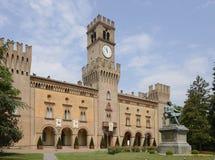 Castillo de Rocca Pallavicino, Busseto Imágenes de archivo libres de regalías