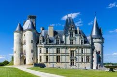 Castillo de Rochefoucauld del La Fotos de archivo