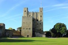 Castillo de Rochester Fotos de archivo libres de regalías