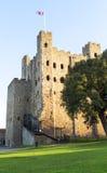 Castillo de Rochester Foto de archivo