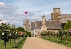 Castillo de Rockingham fotografía de archivo libre de regalías