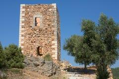 Castillo de Rodão Imagenes de archivo