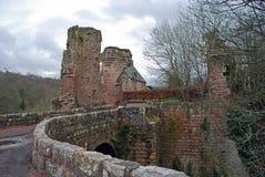 Castillo de Roslin un castillo escocés del siglo XIV Fotografía de archivo