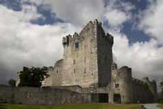 Castillo de Ross, Killarney Foto de archivo