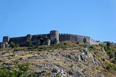 Castillo de Rozafa Imágenes de archivo libres de regalías