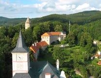 Castillo de Rozmberk fotos de archivo