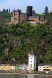 Castillo de Rudesheim Foto de archivo libre de regalías
