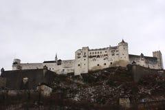 Castillo de Salzburg Imagen de archivo