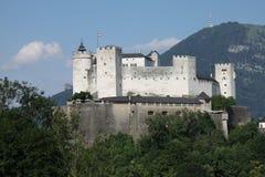 Castillo de Salzburg, Austria imagen de archivo
