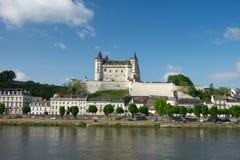 Castillo de Samur Imágenes de archivo libres de regalías