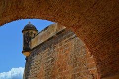 Castillo de San Antonio de la Eminencia imagens de stock royalty free