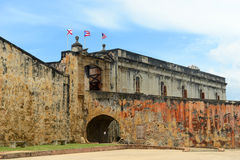 Castillo de San Cristóbal, San Juan Royalty Free Stock Photo