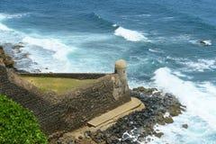 Castillo de San Cristóbal, San Juan Stock Photography