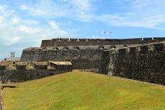 Castillo de San Cristóbal, San Juan Stock Photo