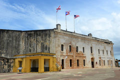Castillo de San Cristóbal, San Juan Stock Photos