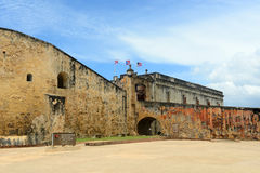 Castillo de San Cristóbal, San Juan Stock Image