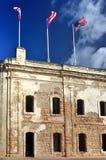 Castillo de San Cristobal - San Juan, Porto Rico Immagine Stock