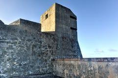 Castillo de San Cristobal - San Juan, Porto Rico Immagini Stock Libere da Diritti