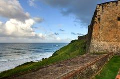 Castillo de San Cristobal - San Juan, Porto Rico Fotografia Stock Libera da Diritti