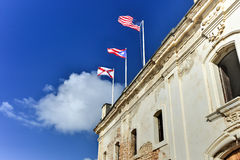 Castillo de San Cristobal - San Juan, Puerto Rico Stock Photos