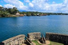 Castillo de San Felipe de Lara, Guatemala Imagen de archivo