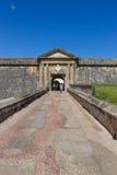 CASTILLO DE SAN FELIPE DEL MORRO, PUERTO RICO, USA - FEB 16, 2015: Entrance to fortress Royalty Free Stock Photography