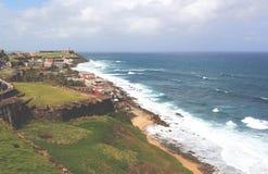 Castillo de San Felipe del Morro, San Juan, Puerto Rico Royaltyfri Foto