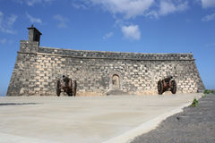Castillo de San Gabriel Stock Photography