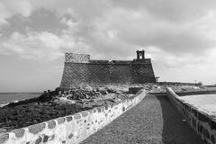 Castillo de San Gabriel Royalty Free Stock Images