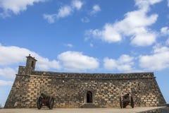Castillo de SAN Gabriel Arrecife Στοκ εικόνες με δικαίωμα ελεύθερης χρήσης